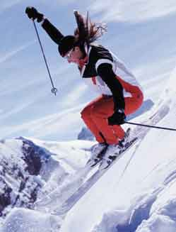 winter sports skiing